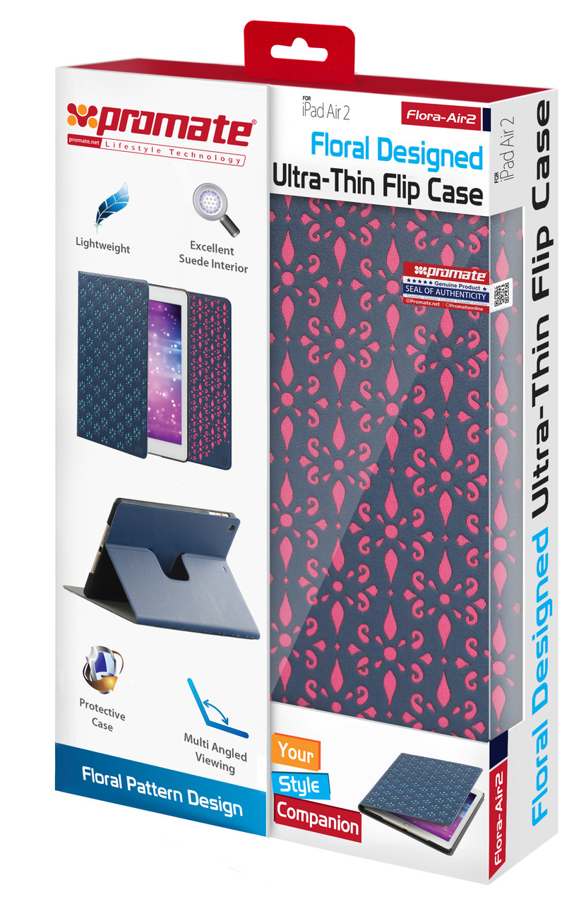 Чехол для iPad Air 2 Flora-Air2 Pink