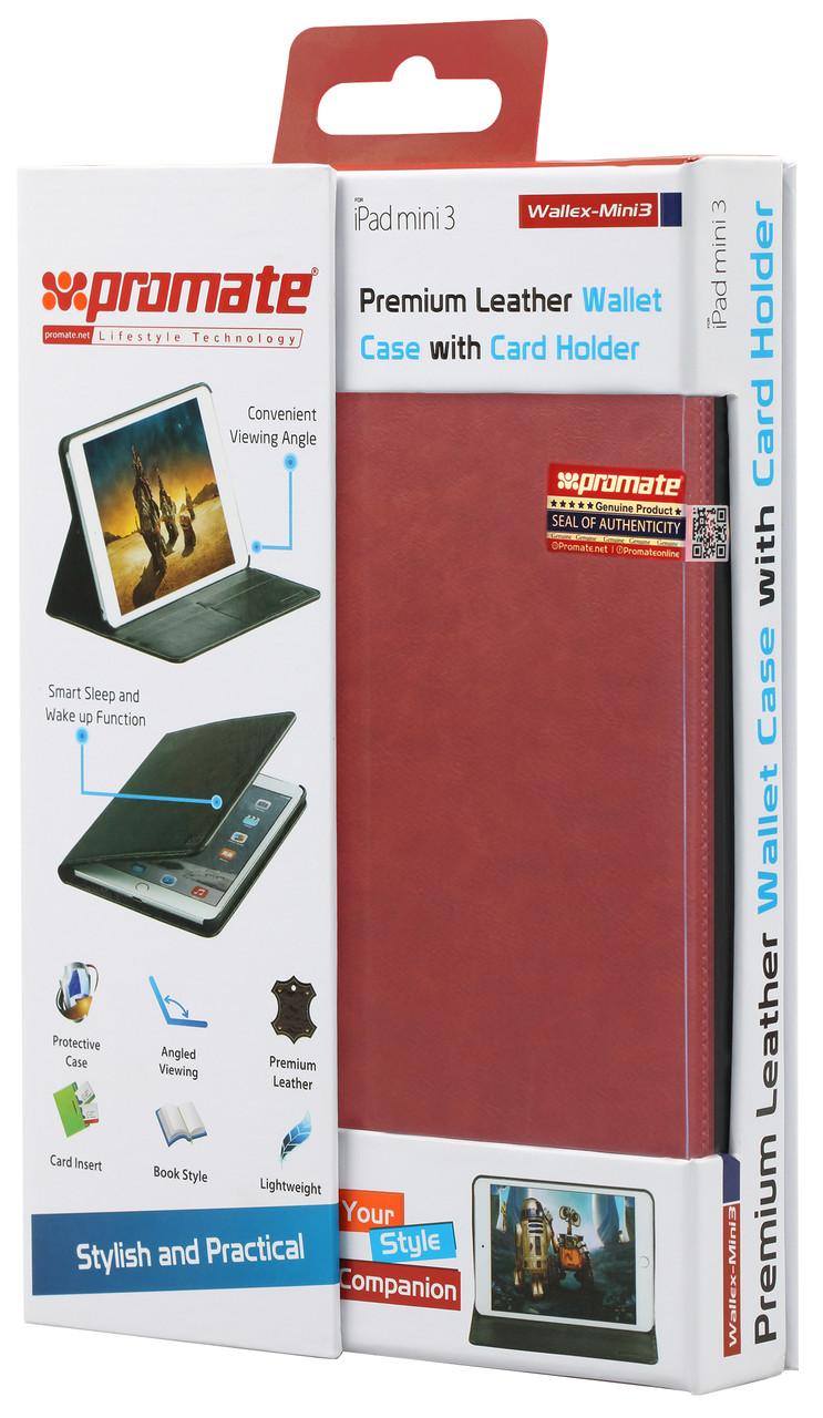 Чехол для iPad Mini 3 Wallex-Mini3 Red