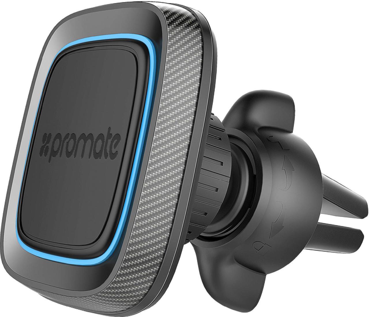 Магнитный держатель для телефона Promate AirGrip-1 Blue