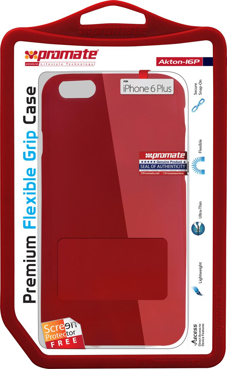Чехол Promate Akton-i6P для Apple iPhone 6 Plus/6s Plus Red