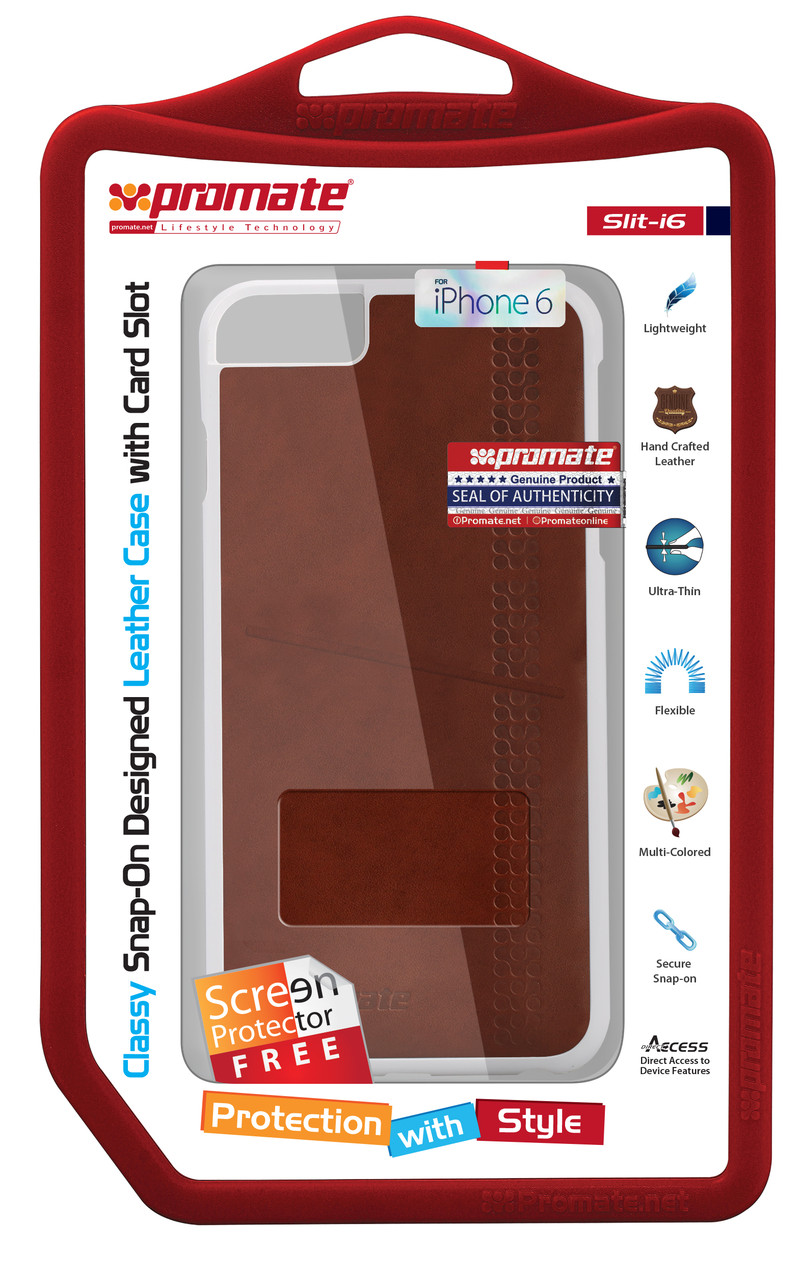 Чехол для iPhone Slit-i6 Brown
