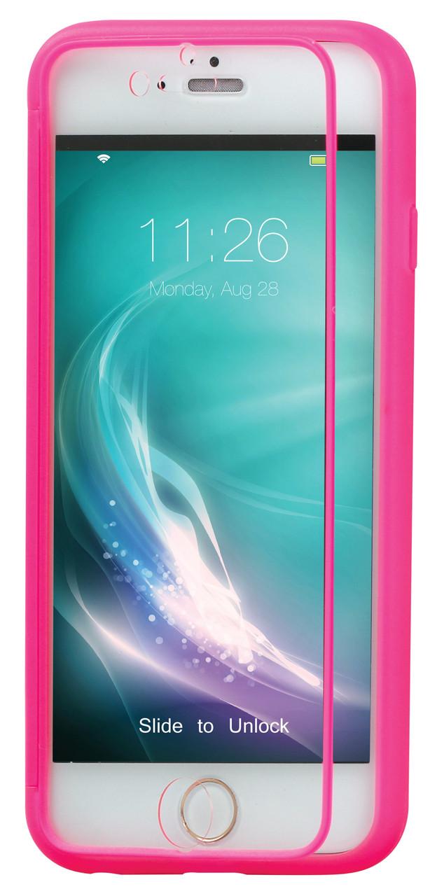Чехол для iPhone Promate Lucent-i6 Pink