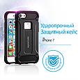 Чехол для iPhone Promate gripShell-I7 Black, фото 3