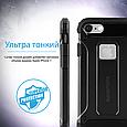 Чехол для iPhone Promate gripShell-I7 Black, фото 6