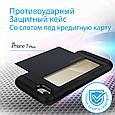 Чехол для iPhone Promate Vaultcase-I7P Black, фото 2