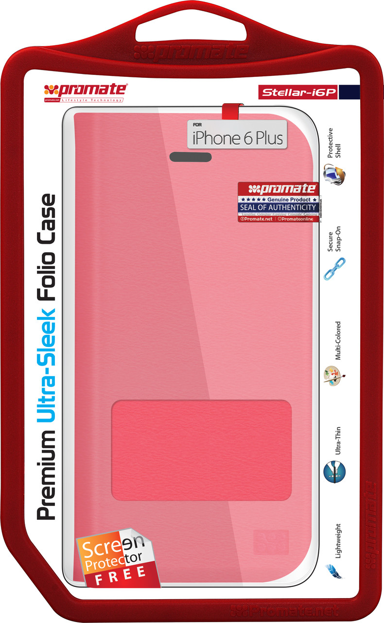 Чехол для iPhone Promate  Stellar-i6P Red