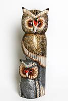Тотем, 2 совы, 3 расцветки (с-237)