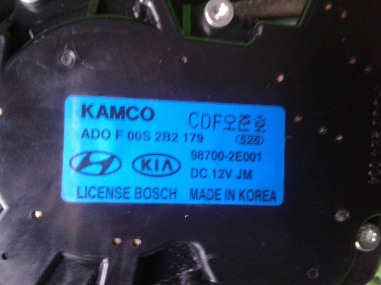 Б/у моторчик склоочисника для Hyundai Tucson 2007 р.