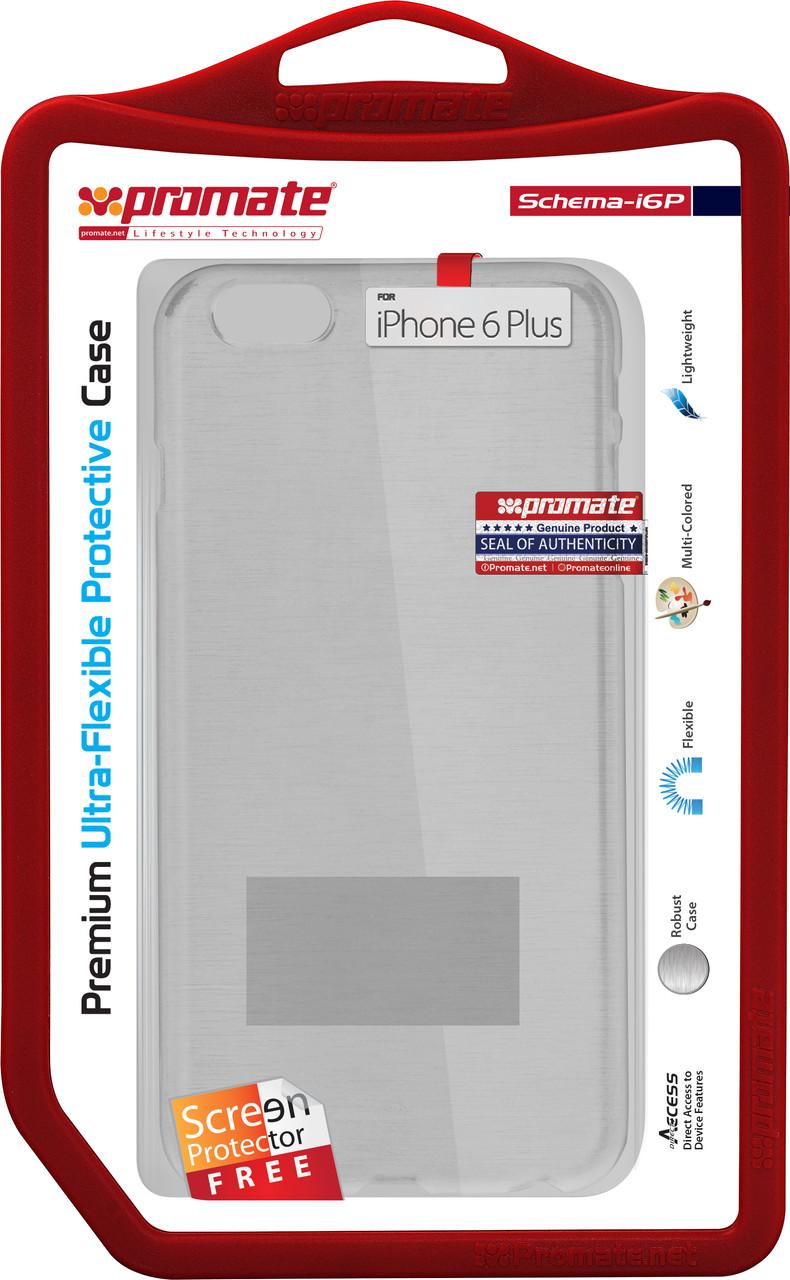 Чехол для iPhone 6 Promate Schema-i6P White