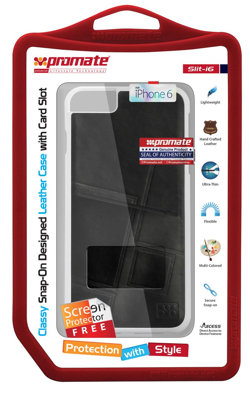 Чехол для iPhone Slit-i6 Black