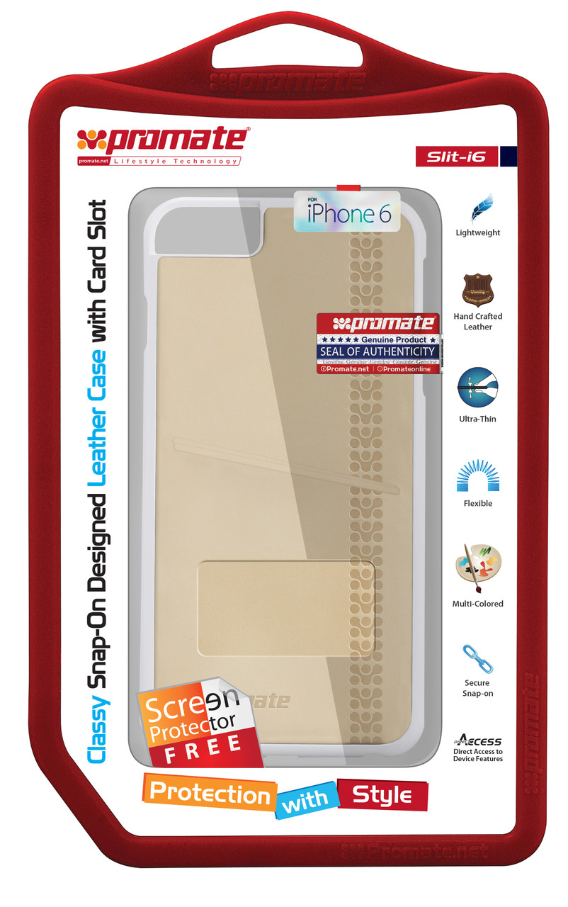 Чехол для iPhone Slit-i6 Cream