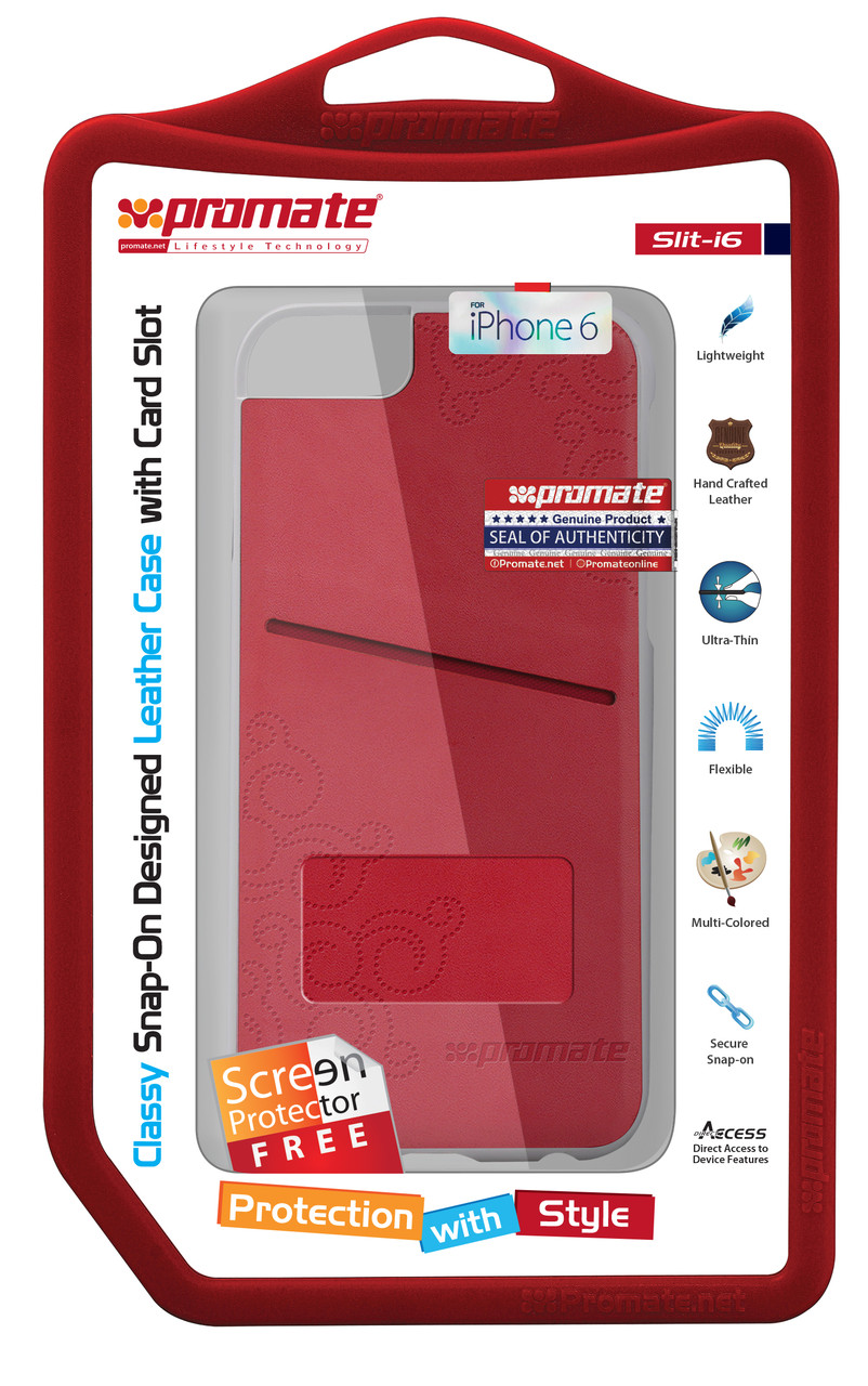 Чехол для iPhone Slit-i6 Red