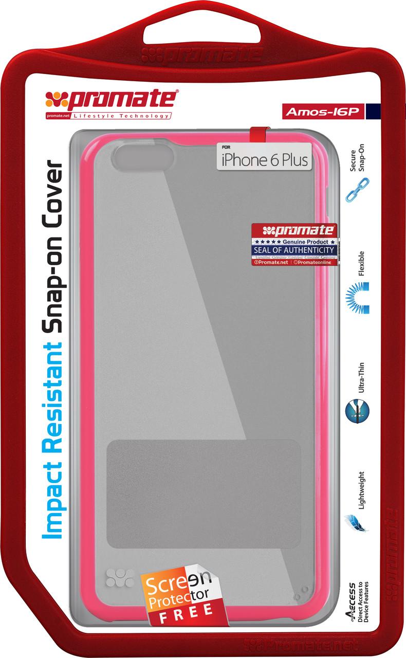 Чехол для iPhone Promate Amos-i6P Pink