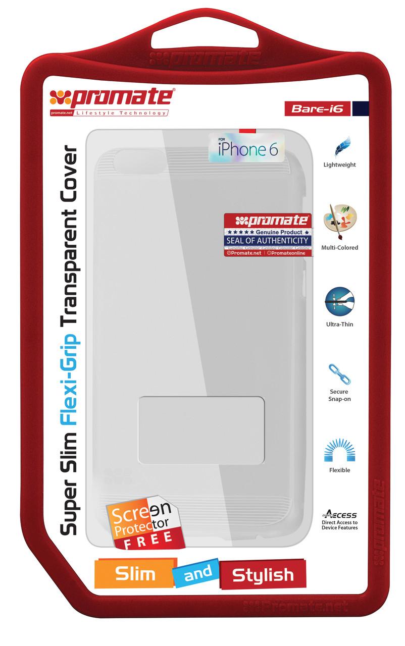 Защитная накладка для iPhone 6 Promate Bare-i6 Clear