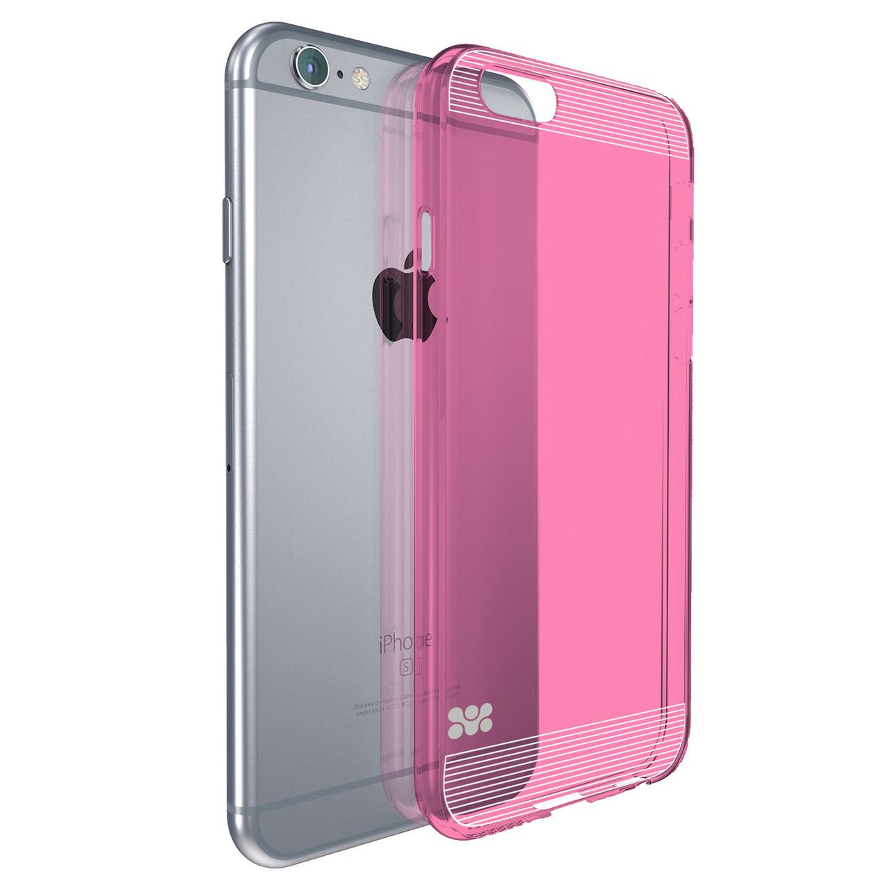 Защитная накладка для iPhone 6 Promate Bare-i6 Pink