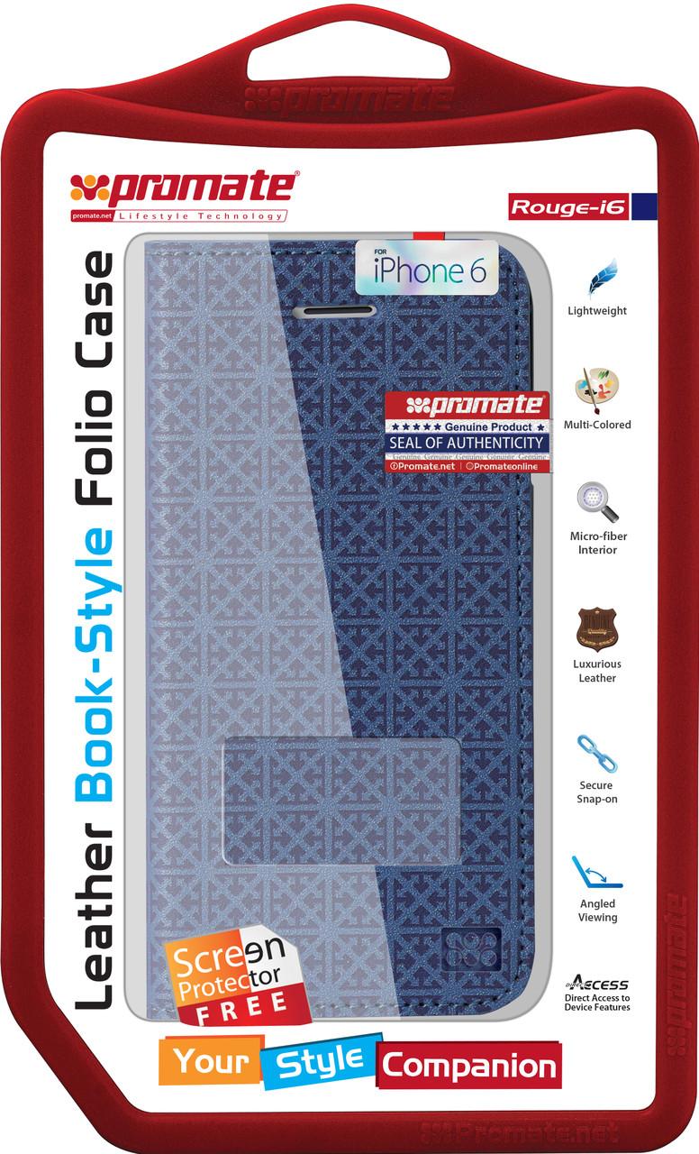 Чехол для iPhone Promate Rouge-i6 Blue