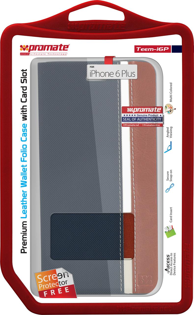 Чехол для iPhone Promate Teem-i6P Blue