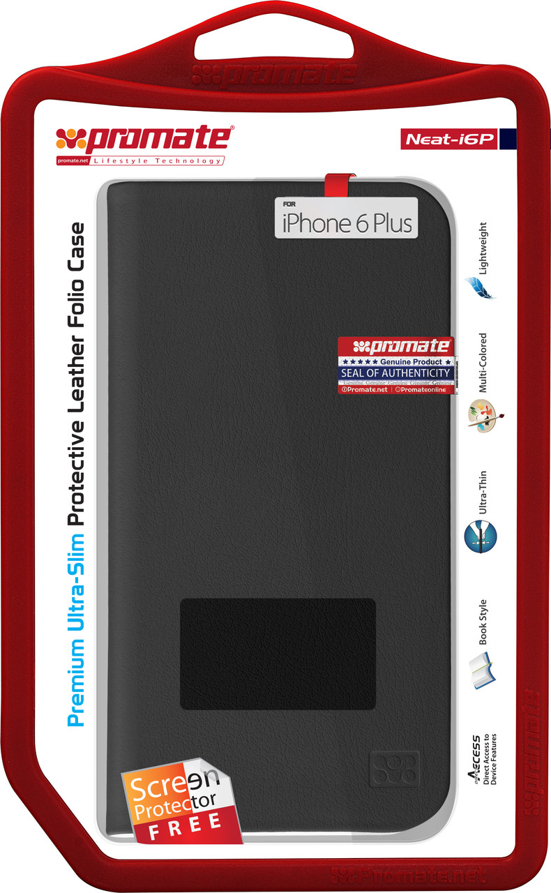Чехол для iPhone Promate Neat-i6P Black