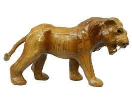 Кожаные животные маленькие: лев (кж-65)
