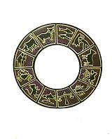 Круглое заркало со знаками зодиака, 4 цвета (си-39)