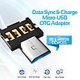 Адаптер Promate Nano-OTG USB - microUSB (Распакован), фото 4