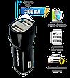 Автомобильное зарядное устройство Promate Vivid Black (Распакован), фото 3
