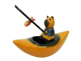 Маленький кот-рыбак в лодочке (кн-40)