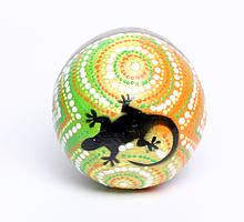 Маракасы цветные с рисунком 4 вида (ма-73)