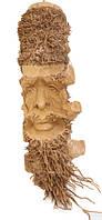 Маска из бамбука лицо человека (мб-13)