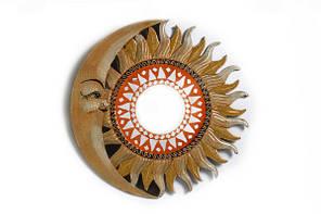 Солнышко - зеркало (Индонезия), d-50 см, 4 вида (си-233в)