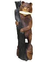 Медведь суара с рыбой в зубах (мс-05б)