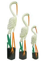 Набор белых птиц с желтым клювом (пт-93, пт-94, пт-95)