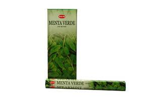 Благовония Hem-Menta Verde на угольной основе (б-37-24)