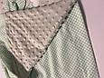 Одеяло плед ПЛЮШ детское минки MINKY, хлопок, микрофибра, дитяче покривало плед, ковдра для новонароджених, фото 3