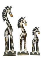 Набор коричневых зебр (з-68, з-69, з-70)