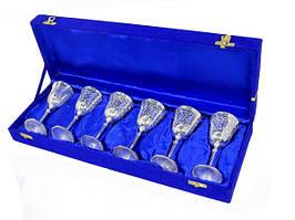 Набор рюмок в синей коробке (нр-68)