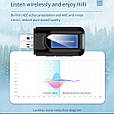 СТЕРЕО Bluetooth 5.0 AUX USB / СТЕРЕО Блютуз 5.0 АУКС ЮСБ / приемник + передатчик / трансмиттер + ресивер, фото 5