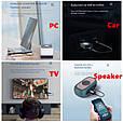 СТЕРЕО Bluetooth 5.0 AUX USB / СТЕРЕО Блютуз 5.0 АУКС ЮСБ / приемник + передатчик / трансмиттер + ресивер, фото 6