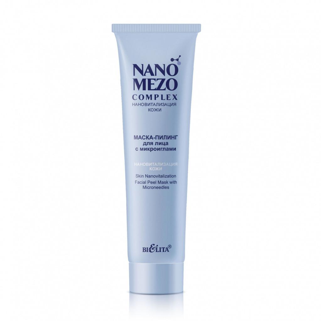 Маска-пилинг для лица с микроиглами «Нановитализация кожи» Bielita NANOMEZOCOMPLEX 100 мл