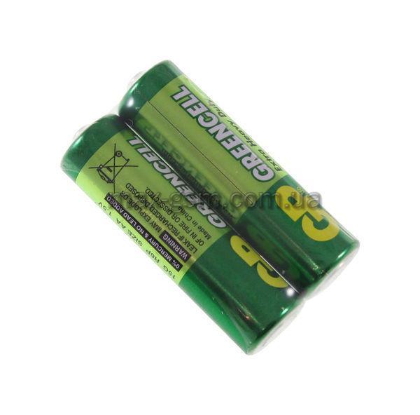 Батарейка R6/2 shrink (15G-S2) Greencell GP