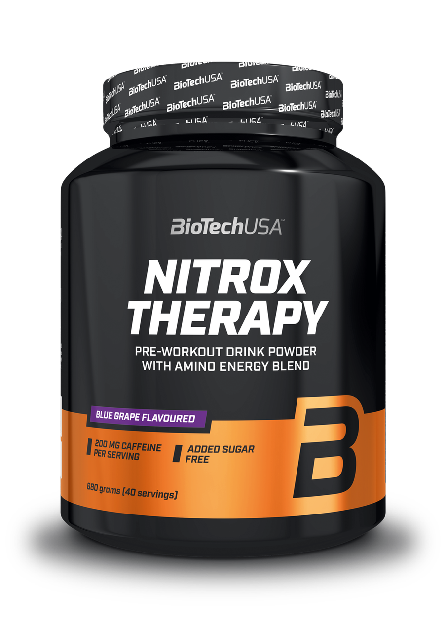 Предтреник BioTech Nitrox Therapy (680 г) биотеч нитрокс cranberry