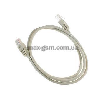 Кабель Cablexpert PP12-1M Patch Cord UTP Cat. 5e, 1.0m, grey