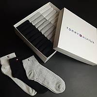 Набор мужских носков Tommy Hilfiger, Томми Хилфигер 30 пар в подарочной упаковке