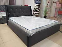 Кровать Люкс Берлин 4 без матраса с подъемным механизмом и  ящиком для белья, фото 1