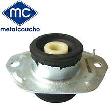 Подушка двигателя под КПП (левая, круглая) на Renault Trafic 2.5dCi (2003-2014) Metalcaucho (Испания) MC04447