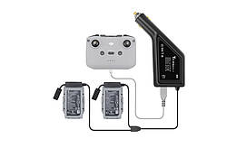 Зарядное устройство автомобильное для DJI Mavic Air 2  StartRC 3-в-1 для