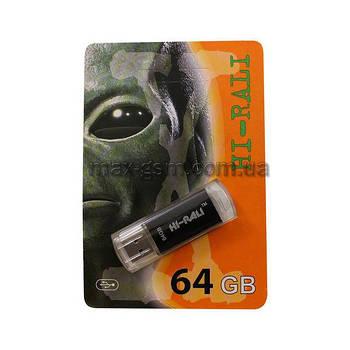 USB 64Gb Hi-Rali Rocket black