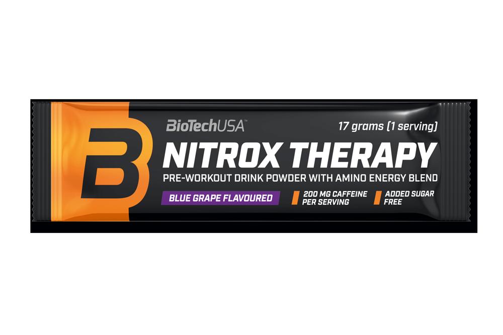 Предтреник BioTech Nitrox Therapy (17 г) биотеч нитрокс blue grape