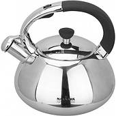 Чайник для плиты MAXMARK MK-1308B (нерж., 3 л.)