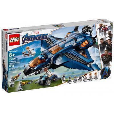 Конструктор LEGO Super Heroes Модернизированный квинджет Мстителей 838